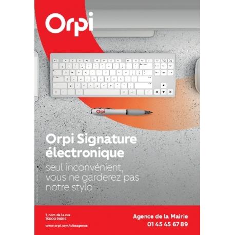 Flyer Signature Electronique