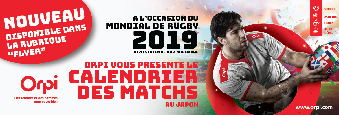 Calendrier Rugby